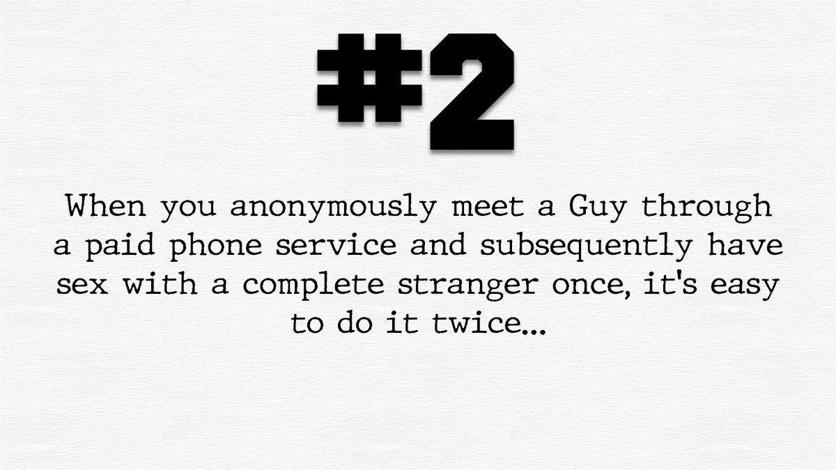 Guy #2 – A much neededshower…