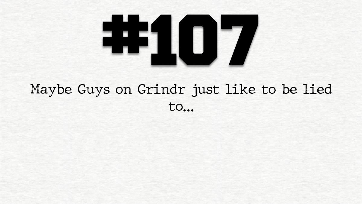 Guy #107 – The formermodel…