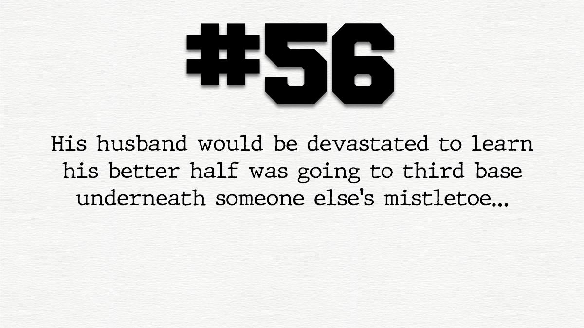 Guy #56 – Horny Loner, SneakyCheater.
