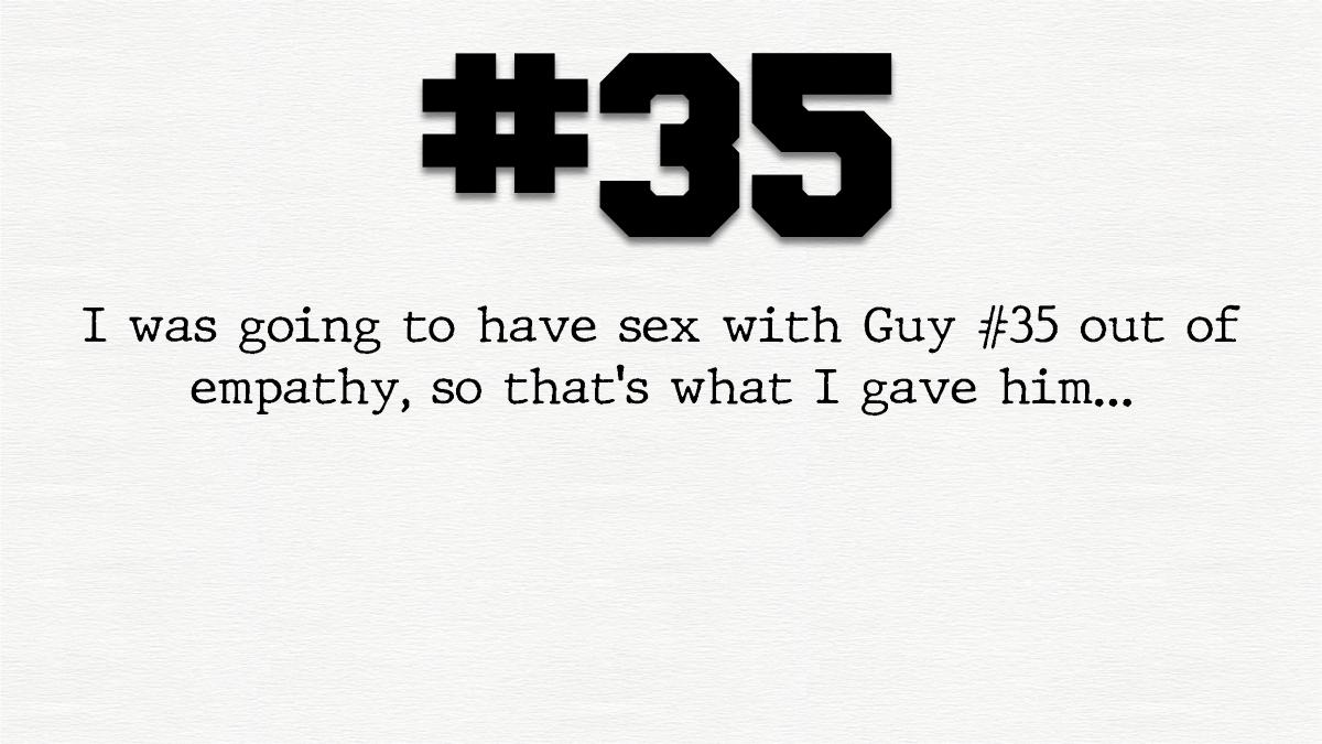 Guy #35 – Thevirgin…